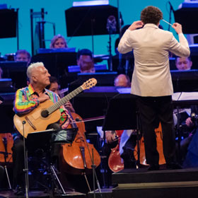 Tango Under the Stars - LA Phil and Dudamel and Romero at the Hollywood Bowl