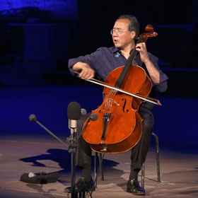 Yo-Yo Ma in Athens - The Bach Project